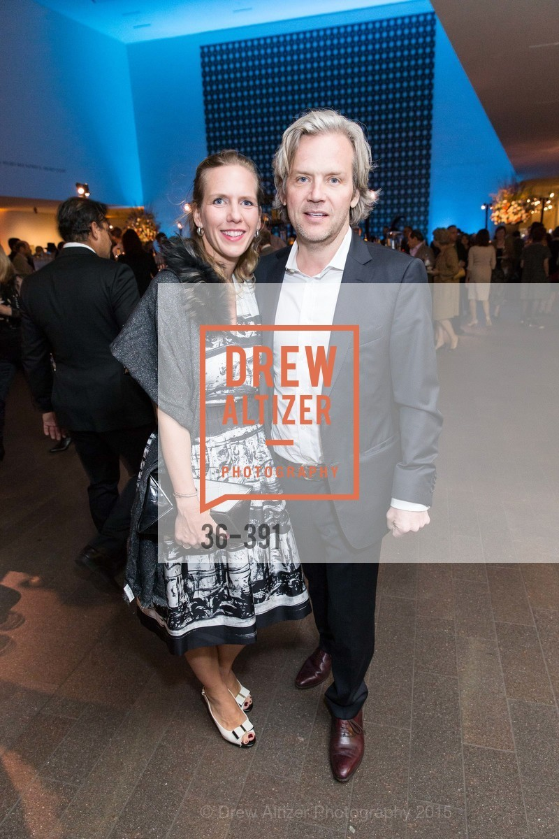 Simone Lis, Aurelian Lis, Jewel City: Art From San Francisco's Panama-Pacific International Exposition Donor Opening Reception, de Young Museum, October 15th, 2015,Drew Altizer, Drew Altizer Photography, full-service agency, private events, San Francisco photographer, photographer california