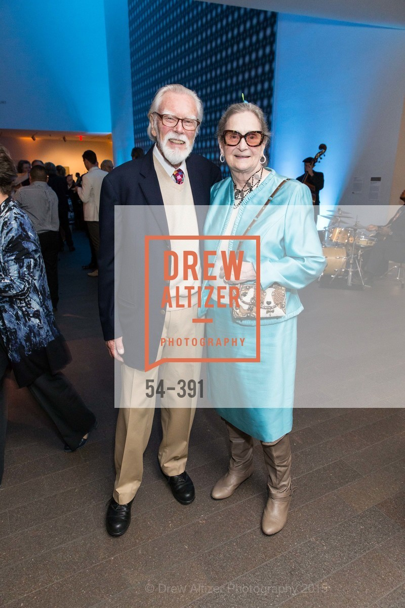 Roland Petersen, Caryl Petersen, Jewel City: Art From San Francisco's Panama-Pacific International Exposition Donor Opening Reception, de Young Museum, October 15th, 2015,Drew Altizer, Drew Altizer Photography, full-service event agency, private events, San Francisco photographer, photographer California