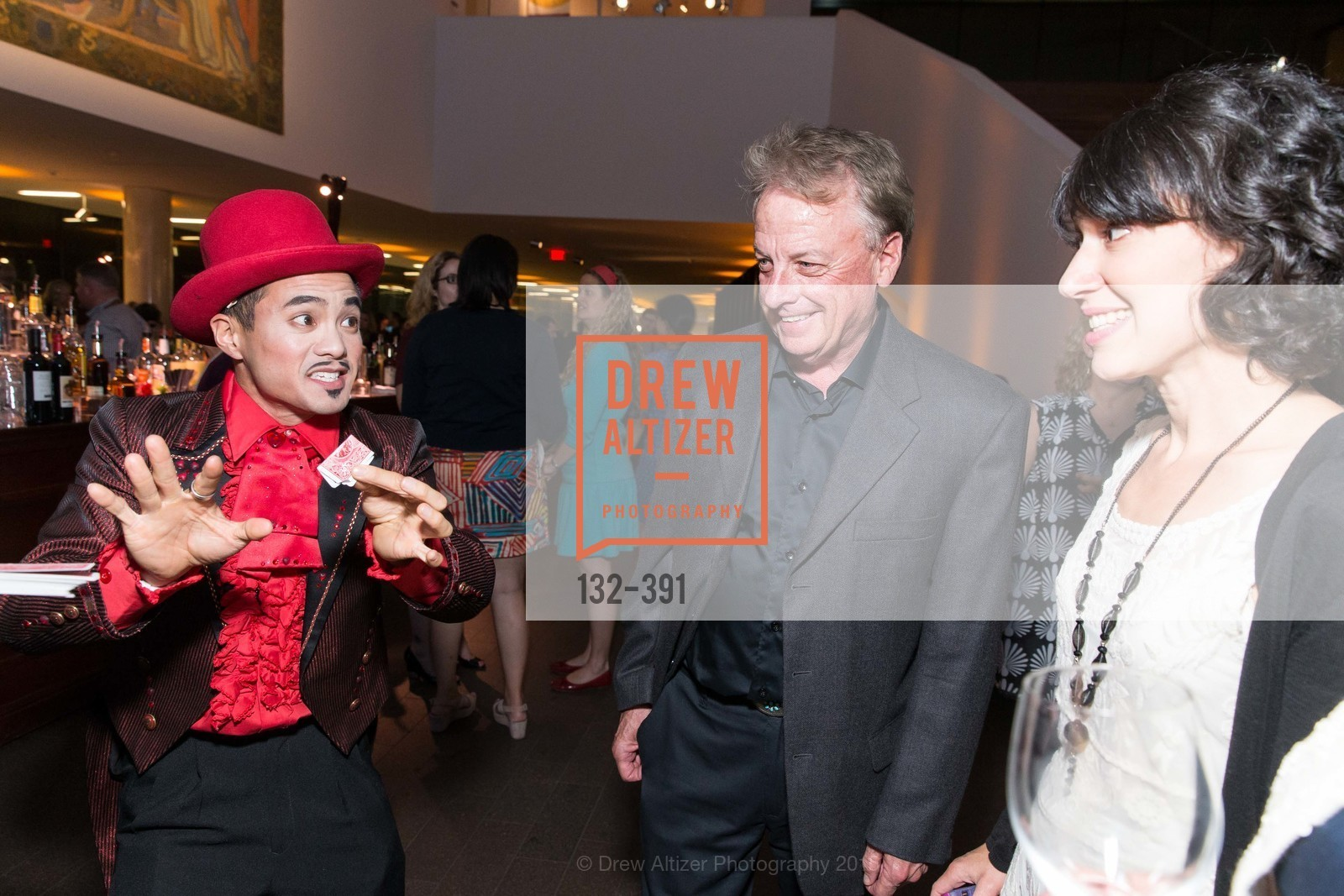 Calvin Cai Ku, Don Larsen, Victoria Binder, Jewel City: Art From San Francisco's Panama-Pacific International Exposition Donor Opening Reception, de Young Museum, October 15th, 2015,Drew Altizer, Drew Altizer Photography, full-service agency, private events, San Francisco photographer, photographer california