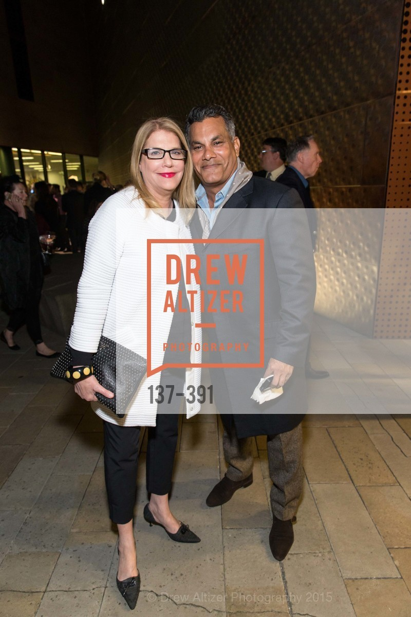 Linda Gordon, Rich Hanif, Jewel City: Art From San Francisco's Panama-Pacific International Exposition Donor Opening Reception, de Young Museum, October 15th, 2015,Drew Altizer, Drew Altizer Photography, full-service event agency, private events, San Francisco photographer, photographer California