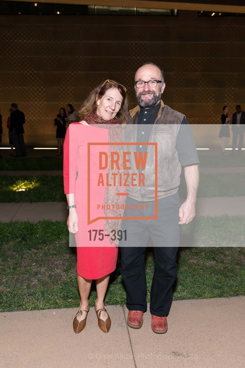 Susan George, Miles Epstein, Jewel City: Art From San Francisco's Panama-Pacific International Exposition Donor Opening Reception, de Young Museum, October 15th, 2015,Drew Altizer, Drew Altizer Photography, full-service agency, private events, San Francisco photographer, photographer california