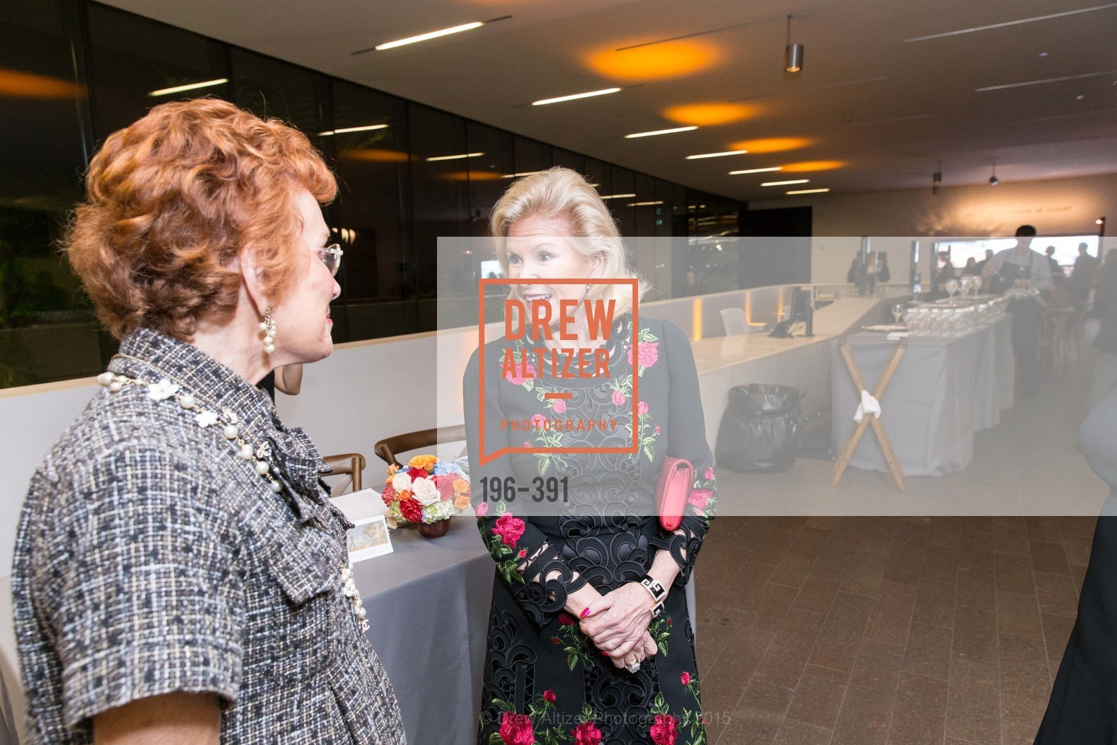 Phoebe Cowles, Dede Wilsey, Jewel City: Art From San Francisco's Panama-Pacific International Exposition Donor Opening Reception, de Young Museum, October 15th, 2015,Drew Altizer, Drew Altizer Photography, full-service agency, private events, San Francisco photographer, photographer california