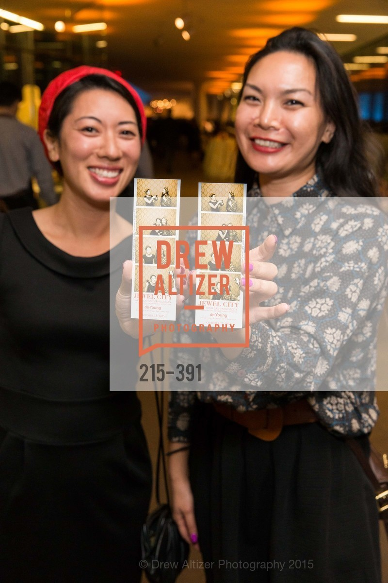 Erica Wong, Kim Tran, Jewel City: Art From San Francisco's Panama-Pacific International Exposition Donor Opening Reception, de Young Museum, October 15th, 2015,Drew Altizer, Drew Altizer Photography, full-service agency, private events, San Francisco photographer, photographer california