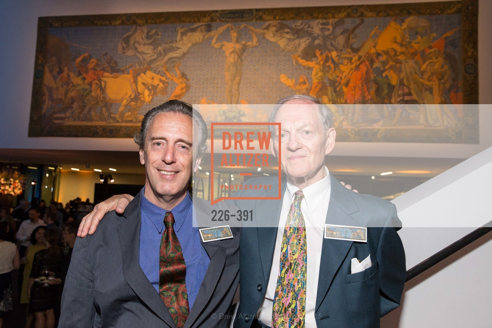 Pryor Dodge, Leftwich Kimbrough, Jewel City: Art From San Francisco's Panama-Pacific International Exposition Donor Opening Reception, de Young Museum, October 15th, 2015,Drew Altizer, Drew Altizer Photography, full-service agency, private events, San Francisco photographer, photographer california