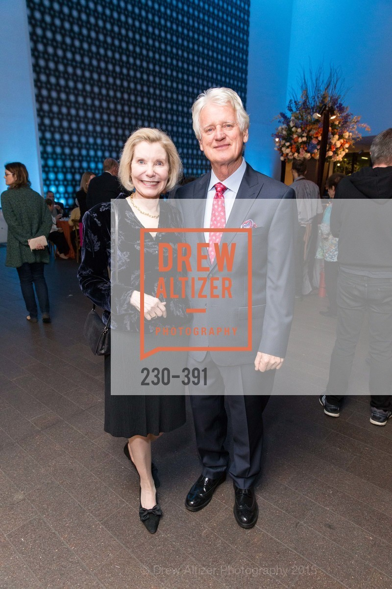Barbara Traisman, Klaus Murer, Jewel City: Art From San Francisco's Panama-Pacific International Exposition Donor Opening Reception, de Young Museum, October 15th, 2015,Drew Altizer, Drew Altizer Photography, full-service agency, private events, San Francisco photographer, photographer california