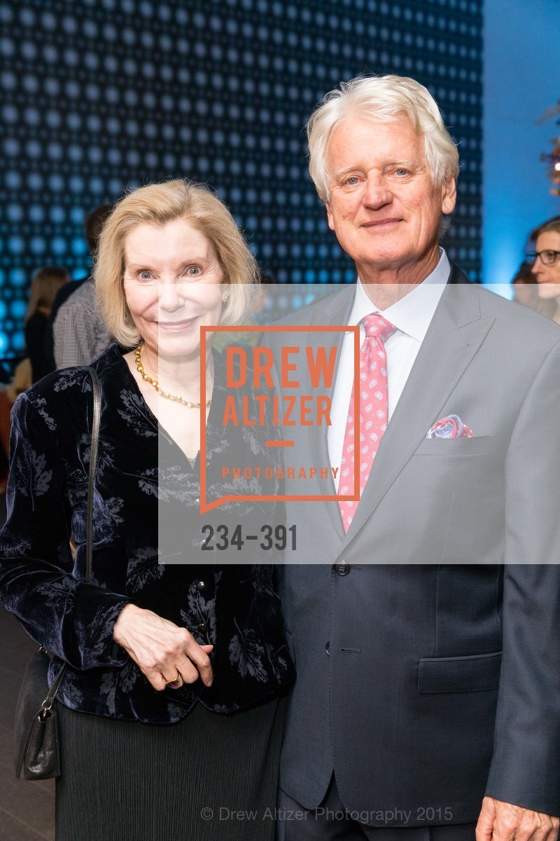 Barbara Traisman, Klaus Murer, Jewel City: Art From San Francisco's Panama-Pacific International Exposition Donor Opening Reception, de Young Museum, October 15th, 2015,Drew Altizer, Drew Altizer Photography, full-service event agency, private events, San Francisco photographer, photographer California