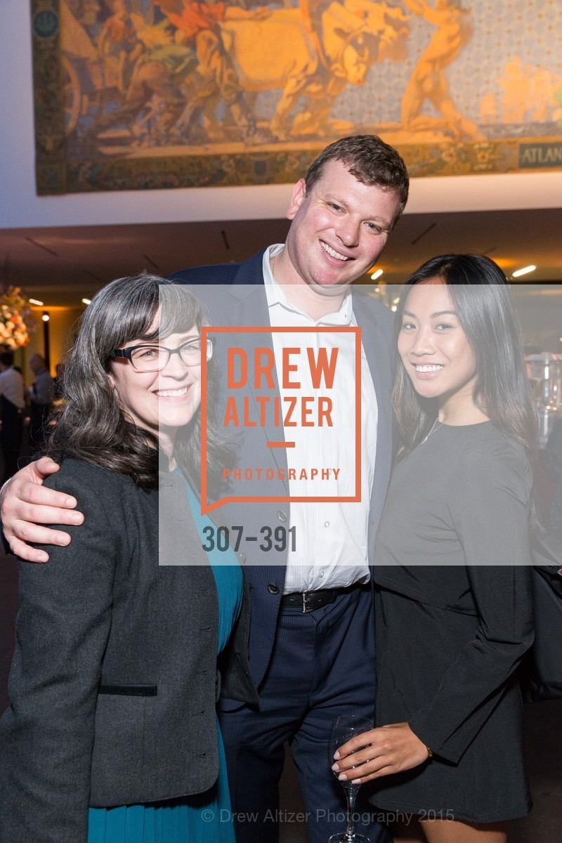 Karen Cottini, Joshua Reynolds, Louella Aquino, Jewel City: Art From San Francisco's Panama-Pacific International Exposition Donor Opening Reception, de Young Museum, October 15th, 2015,Drew Altizer, Drew Altizer Photography, full-service agency, private events, San Francisco photographer, photographer california