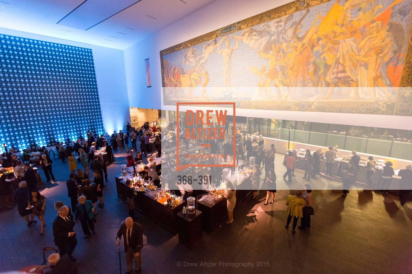 Atmosphere, Jewel City: Art From San Francisco's Panama-Pacific International Exposition Donor Opening Reception, de Young Museum, October 15th, 2015,Drew Altizer, Drew Altizer Photography, full-service event agency, private events, San Francisco photographer, photographer California