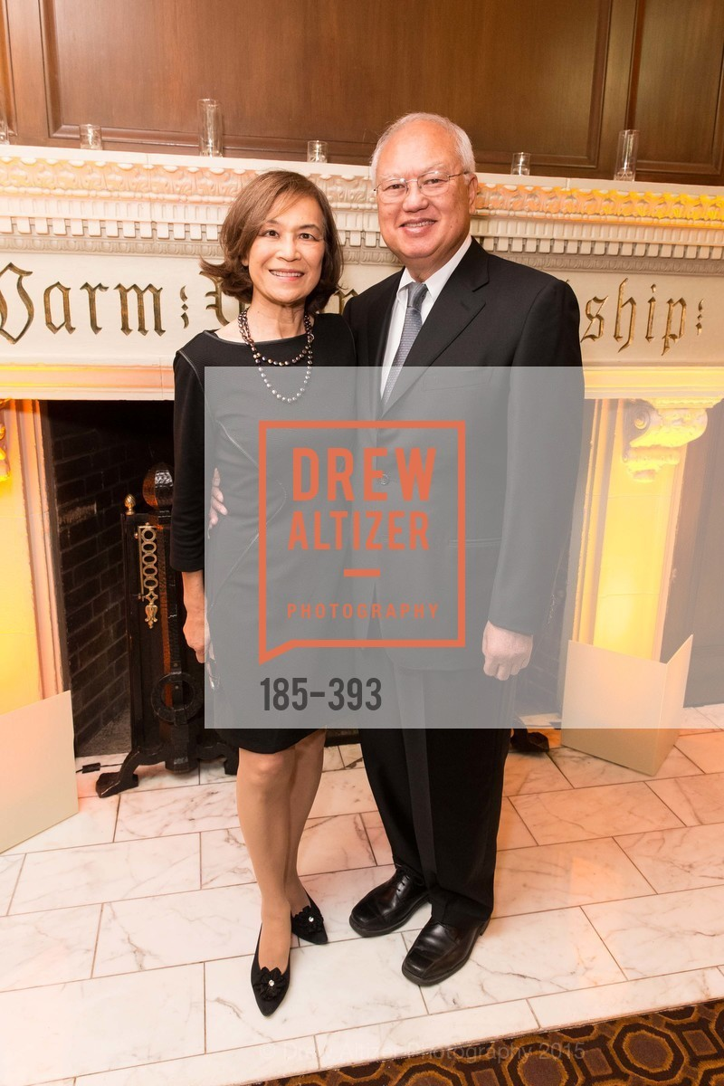 Victoria Fong, Barry Fong, San Francisco Performances' 36th Season Gala, Merchants Exchange Building, Julia Morgan Ballroom. 465 California St, San Francisco, CA 94104, October 16th, 2015,Drew Altizer, Drew Altizer Photography, full-service agency, private events, San Francisco photographer, photographer california
