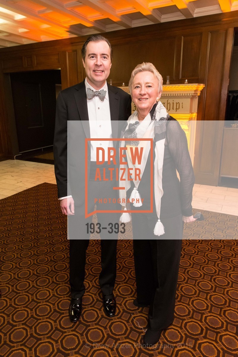 Patrick McCabe, Ruth Felt, San Francisco Performances' 36th Season Gala, Merchants Exchange Building, Julia Morgan Ballroom. 465 California St, San Francisco, CA 94104, October 16th, 2015,Drew Altizer, Drew Altizer Photography, full-service event agency, private events, San Francisco photographer, photographer California