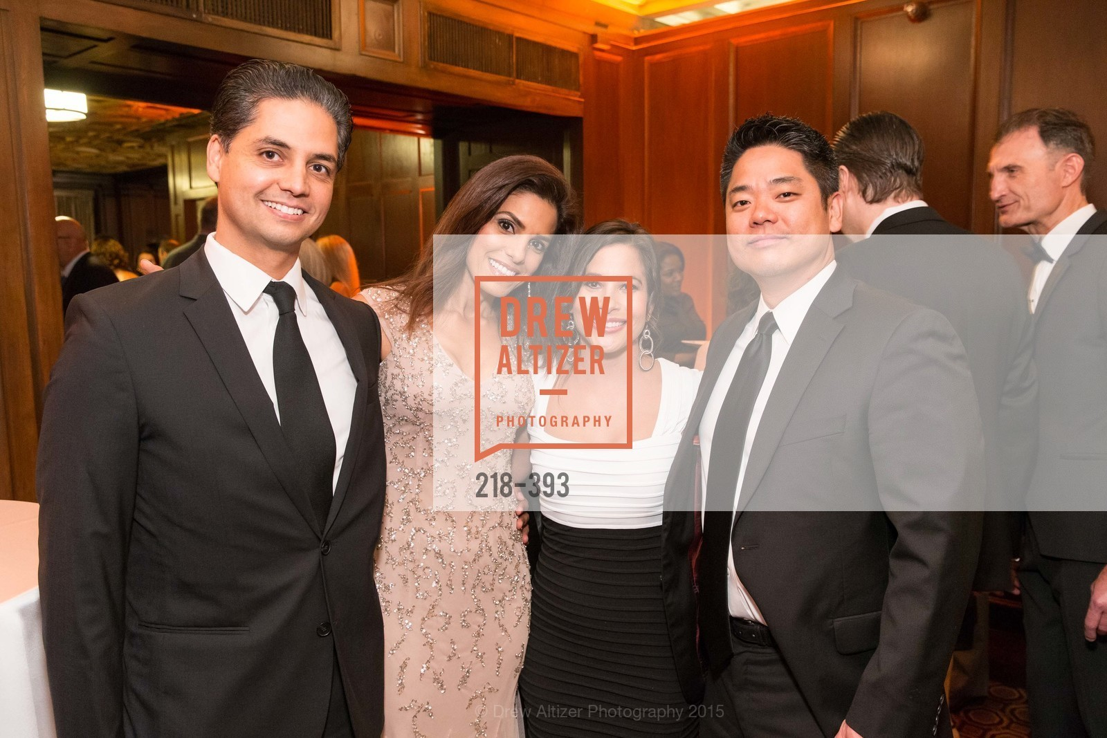 Karim Naji, Ikram Naji, Natalie Wade, Gene Lee, San Francisco Performances' 36th Season Gala, Merchants Exchange Building, Julia Morgan Ballroom. 465 California St, San Francisco, CA 94104, October 16th, 2015,Drew Altizer, Drew Altizer Photography, full-service agency, private events, San Francisco photographer, photographer california