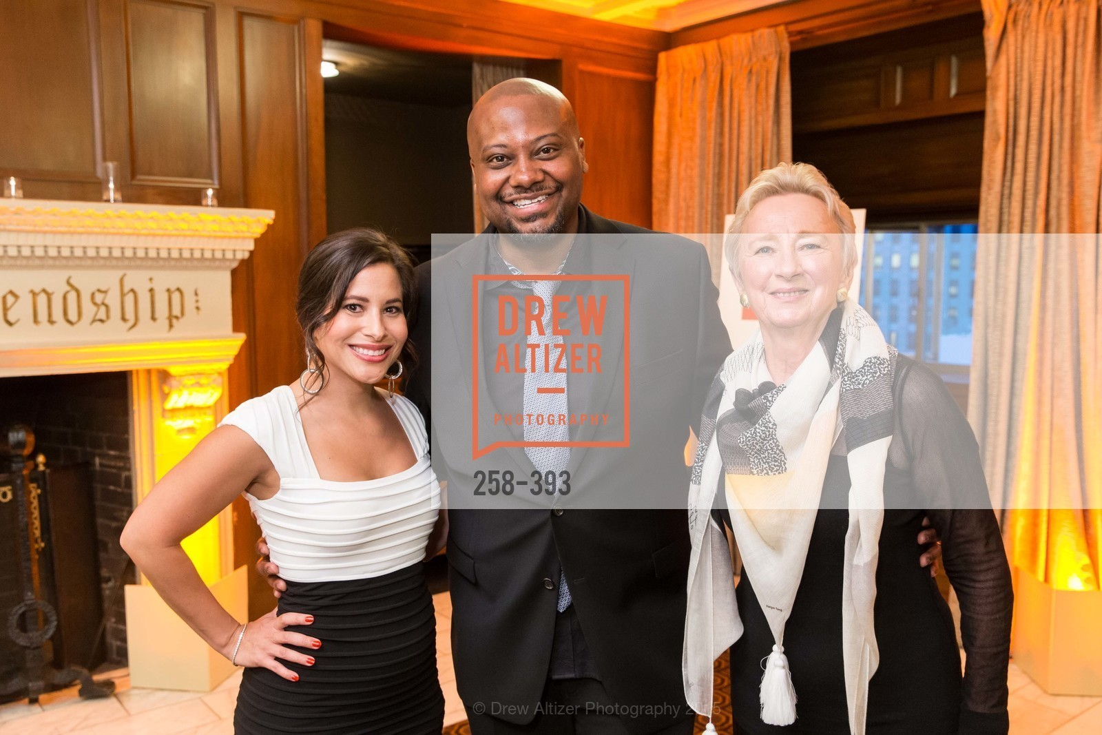 Natalie Wade, Sean Jones, Ruth Felt, San Francisco Performances' 36th Season Gala, Merchants Exchange Building, Julia Morgan Ballroom. 465 California St, San Francisco, CA 94104, October 16th, 2015,Drew Altizer, Drew Altizer Photography, full-service agency, private events, San Francisco photographer, photographer california