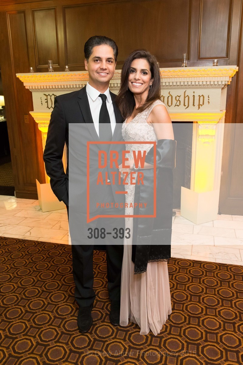 Karim Naji, Ikram Naji, San Francisco Performances' 36th Season Gala, Merchants Exchange Building, Julia Morgan Ballroom. 465 California St, San Francisco, CA 94104, October 16th, 2015,Drew Altizer, Drew Altizer Photography, full-service agency, private events, San Francisco photographer, photographer california
