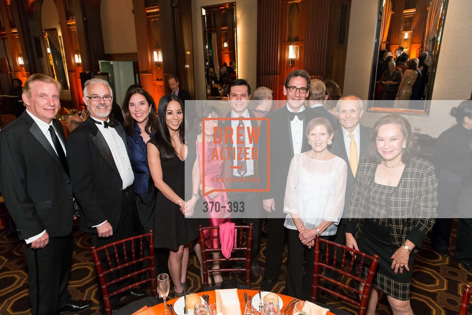 Sisi Tran, Joan Saffa, Michael Nguyen, Fred Levin, Susan Cortis, Jack Cortis, Martha Hertelendy, San Francisco Performances' 36th Season Gala, Merchants Exchange Building, Julia Morgan Ballroom. 465 California St, San Francisco, CA 94104, October 16th, 2015,Drew Altizer, Drew Altizer Photography, full-service agency, private events, San Francisco photographer, photographer california