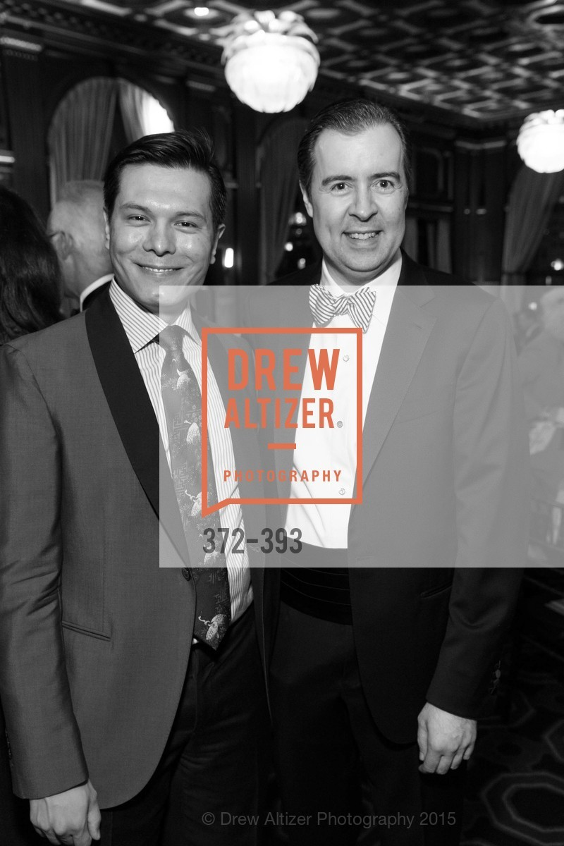 Michael Nguyen, Patrick McCabe, San Francisco Performances' 36th Season Gala, Merchants Exchange Building, Julia Morgan Ballroom. 465 California St, San Francisco, CA 94104, October 16th, 2015,Drew Altizer, Drew Altizer Photography, full-service agency, private events, San Francisco photographer, photographer california