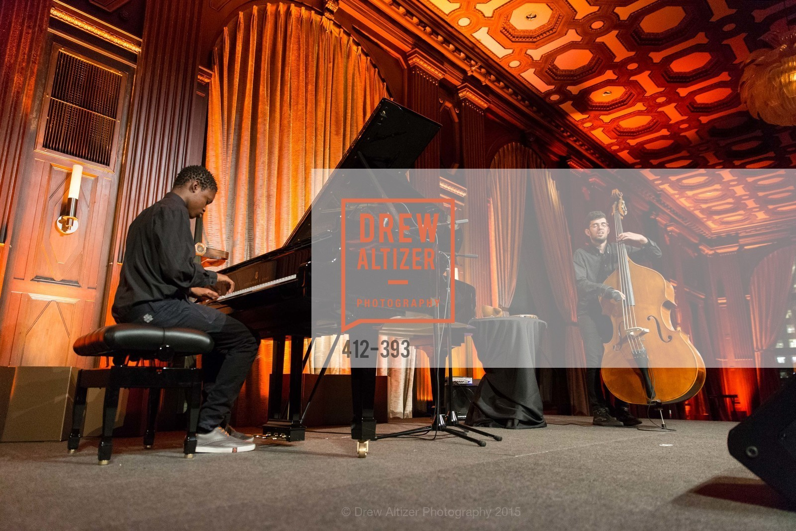 Performance By Caleb Sankoh, San Francisco Performances' 36th Season Gala, Merchants Exchange Building, Julia Morgan Ballroom. 465 California St, San Francisco, CA 94104, October 16th, 2015,Drew Altizer, Drew Altizer Photography, full-service agency, private events, San Francisco photographer, photographer california