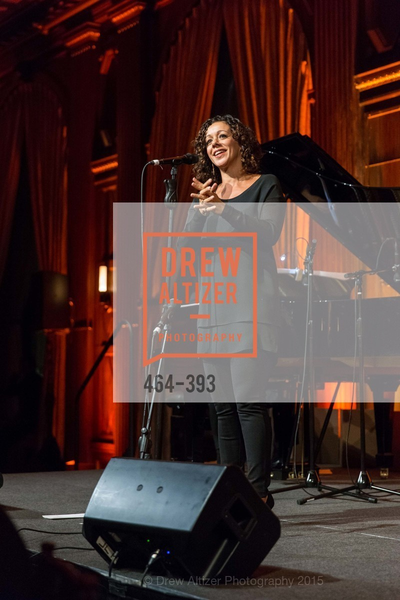Luciana Souza, San Francisco Performances' 36th Season Gala, Merchants Exchange Building, Julia Morgan Ballroom. 465 California St, San Francisco, CA 94104, October 16th, 2015,Drew Altizer, Drew Altizer Photography, full-service agency, private events, San Francisco photographer, photographer california
