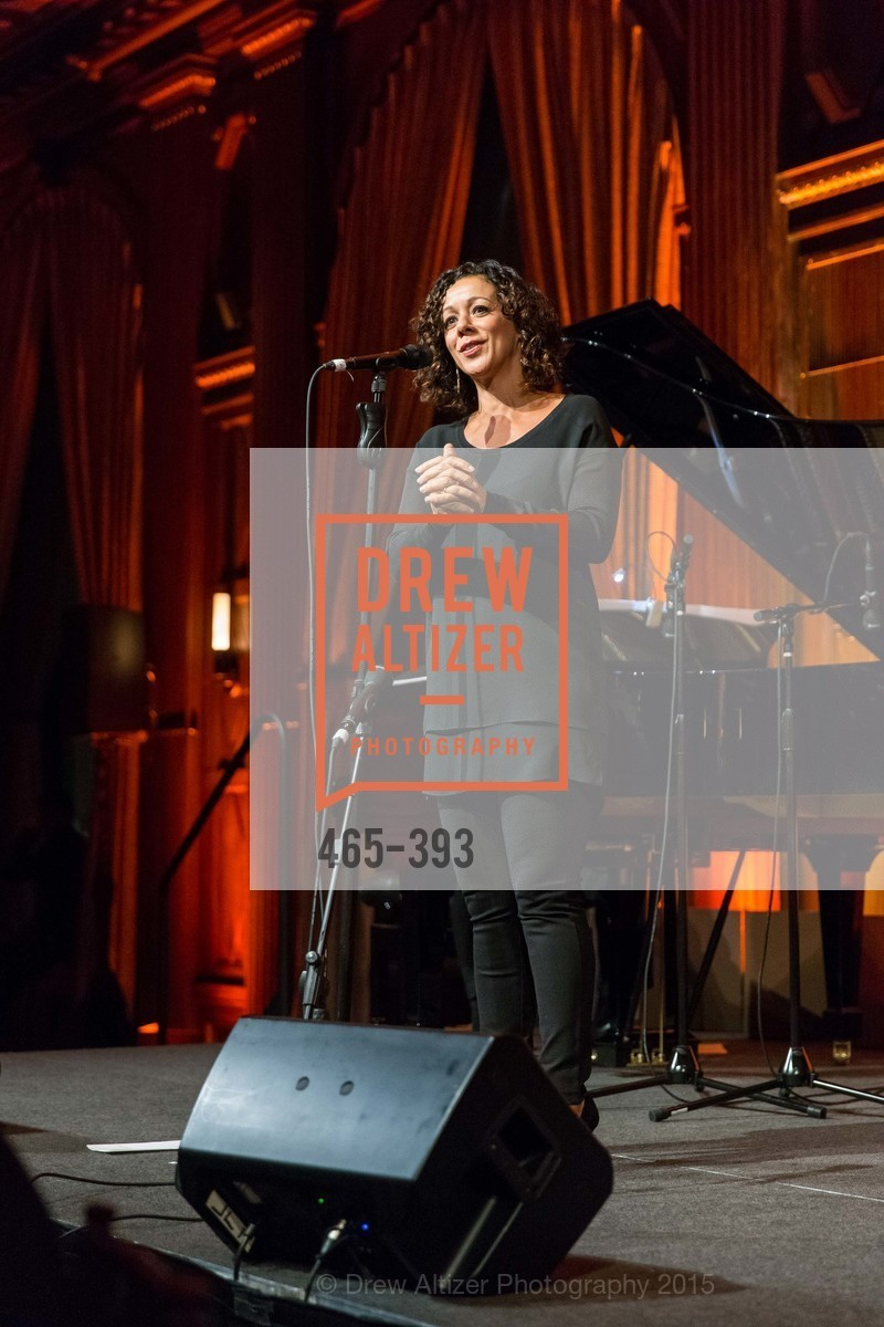 Luciana Souza, San Francisco Performances' 36th Season Gala, Merchants Exchange Building, Julia Morgan Ballroom. 465 California St, San Francisco, CA 94104, October 16th, 2015