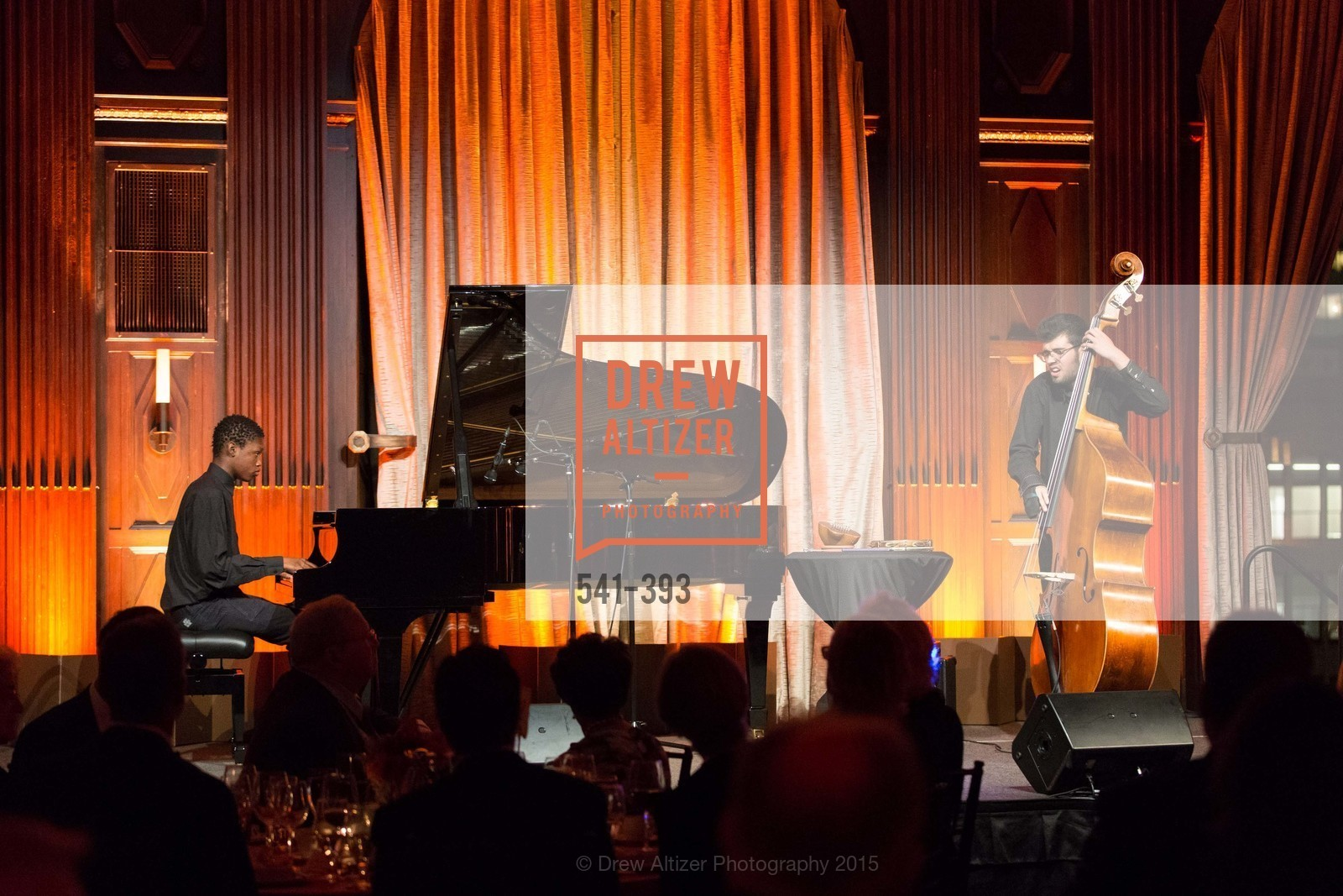 Ari Carpenter, Caleb Sankoh, San Francisco Performances' 36th Season Gala, Merchants Exchange Building, Julia Morgan Ballroom. 465 California St, San Francisco, CA 94104, October 16th, 2015,Drew Altizer, Drew Altizer Photography, full-service agency, private events, San Francisco photographer, photographer california