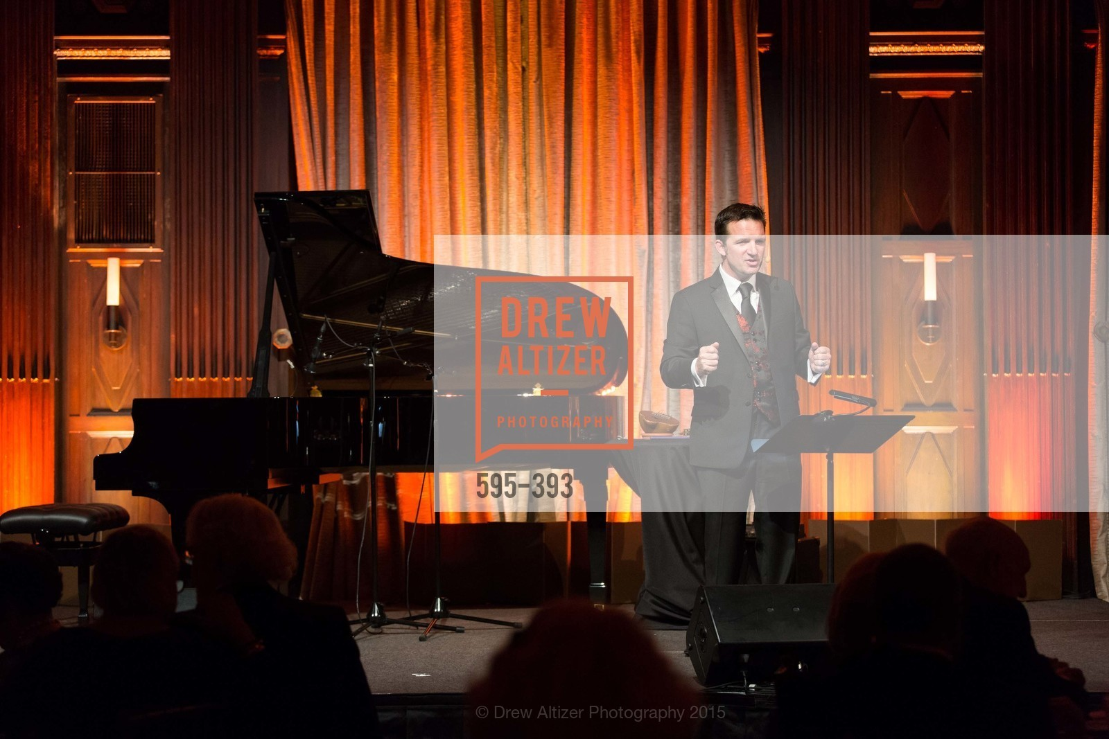 Greg Quiroga, San Francisco Performances' 36th Season Gala, Merchants Exchange Building, Julia Morgan Ballroom. 465 California St, San Francisco, CA 94104, October 16th, 2015,Drew Altizer, Drew Altizer Photography, full-service event agency, private events, San Francisco photographer, photographer California