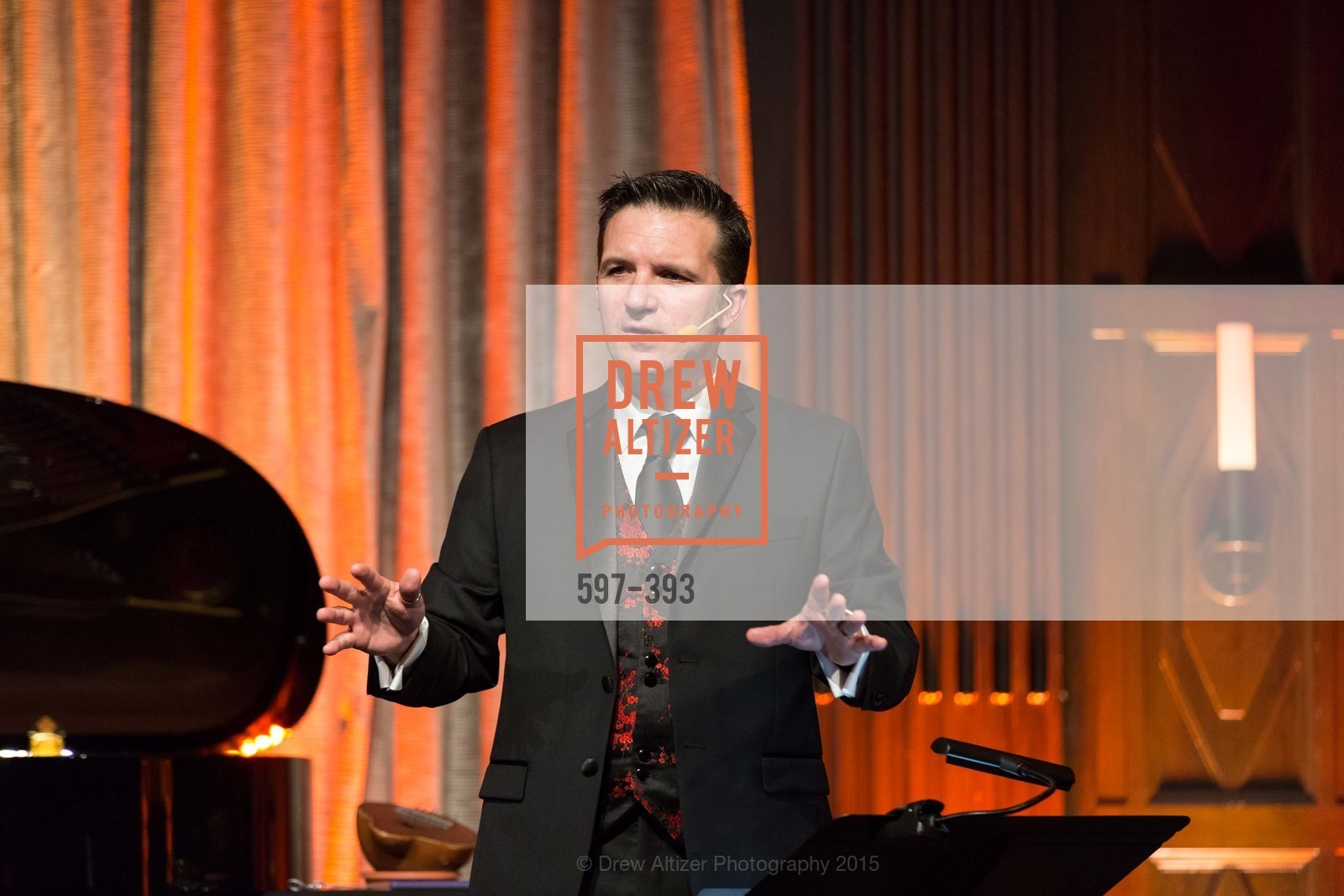 Greg Quiroga, San Francisco Performances' 36th Season Gala, Merchants Exchange Building, Julia Morgan Ballroom. 465 California St, San Francisco, CA 94104, October 16th, 2015,Drew Altizer, Drew Altizer Photography, full-service agency, private events, San Francisco photographer, photographer california