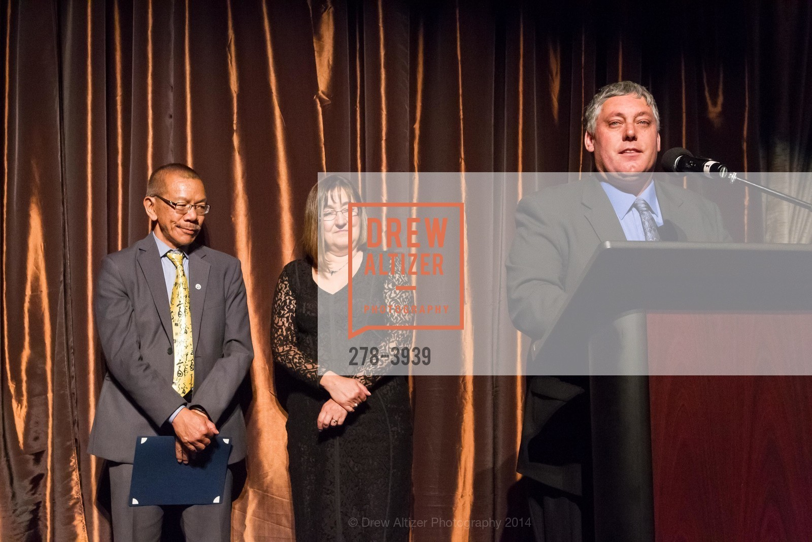 Supervisor Norman Yee, Donna Cahill, Tom Oertl, Photo #278-3939