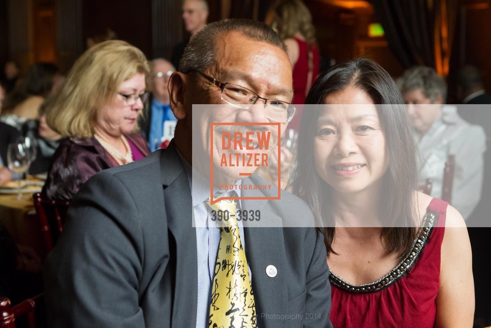 Supervisor Norman Yee, Kathy Yee, Photo #390-3939