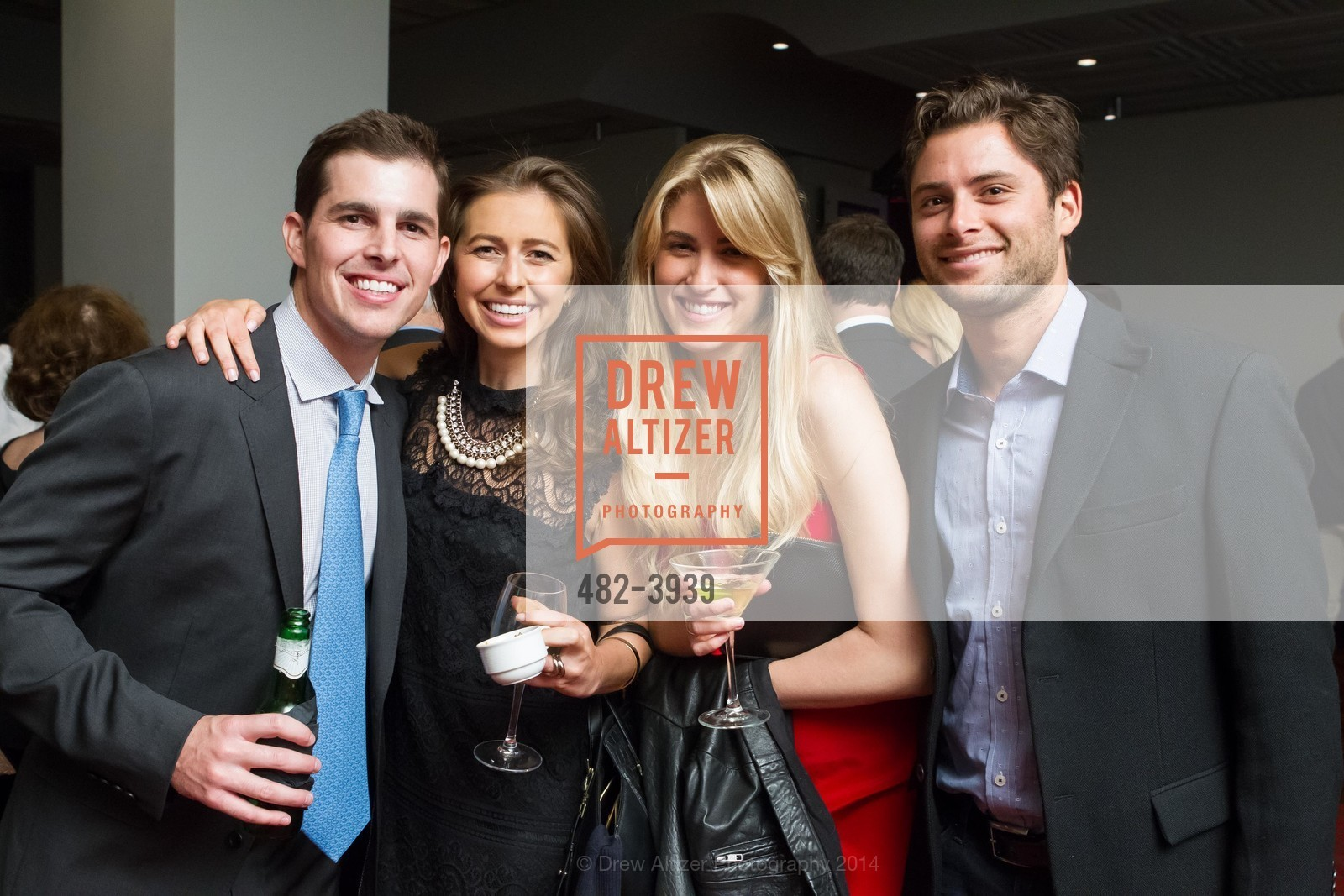 Sean Barrett, Michelle Barrett, Jen Kay, Zack Schwartz, Photo #482-3939