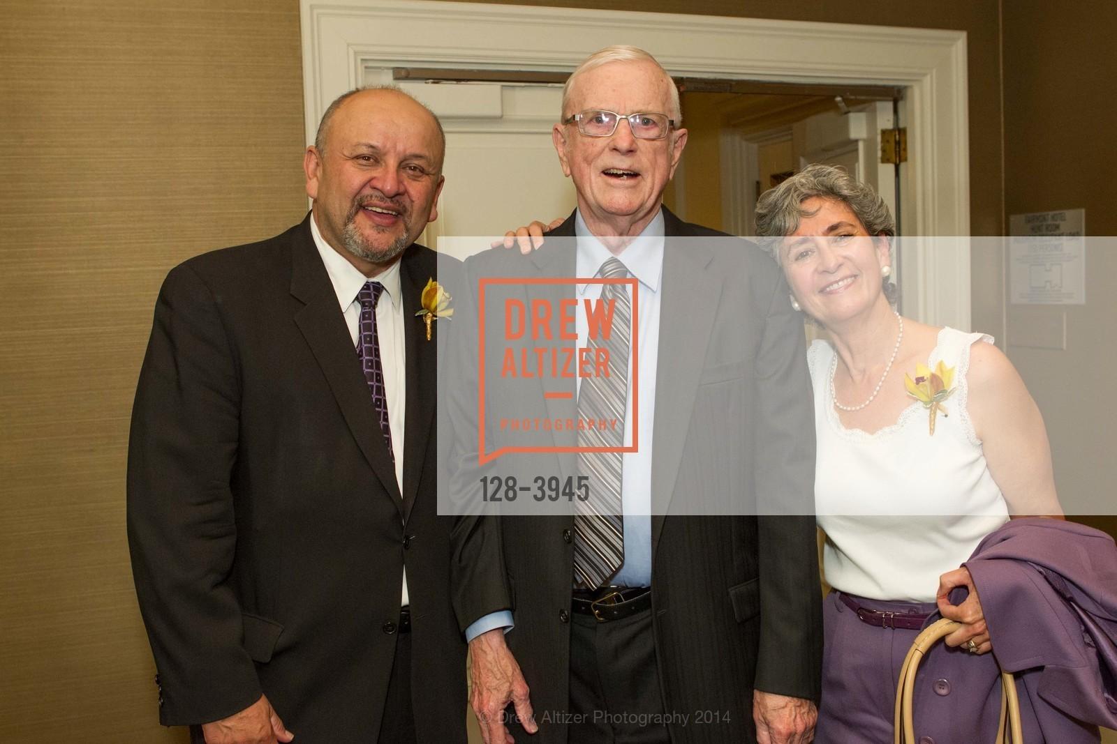 John Garcia, David Carlson, Maria Gallo, Photo #128-3945