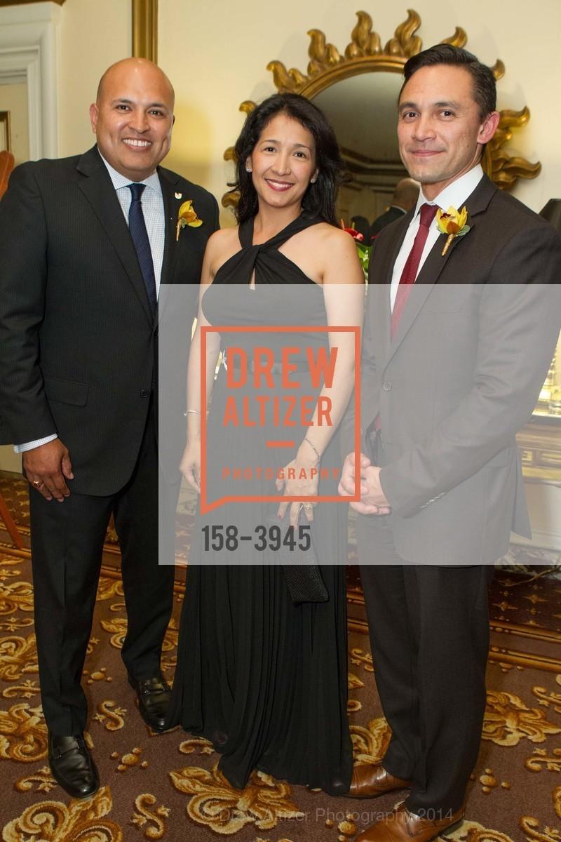 Raul Rodriguez, Veronica Rodriguez, Ezra Garrett, Photo #158-3945