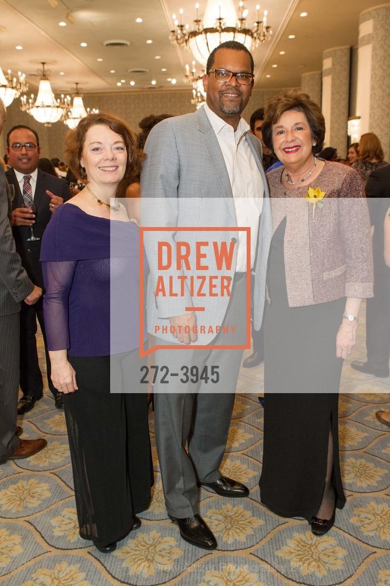 Monica Pressley, Fred Blackwell, Aida Alvarez, Photo #272-3945