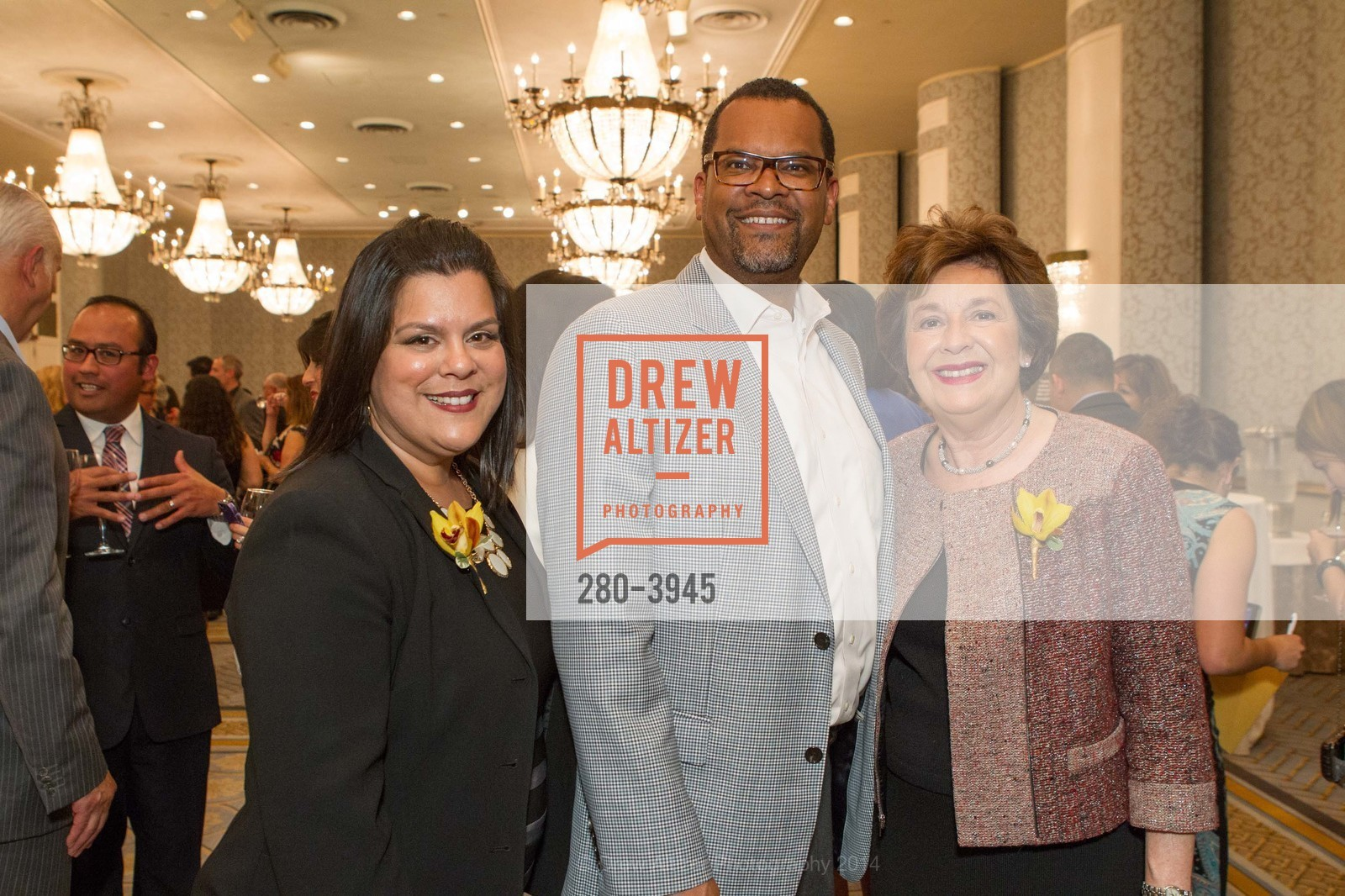 Raquel Donoso, Fred Blackwell, Aida Alvarez, Photo #280-3945