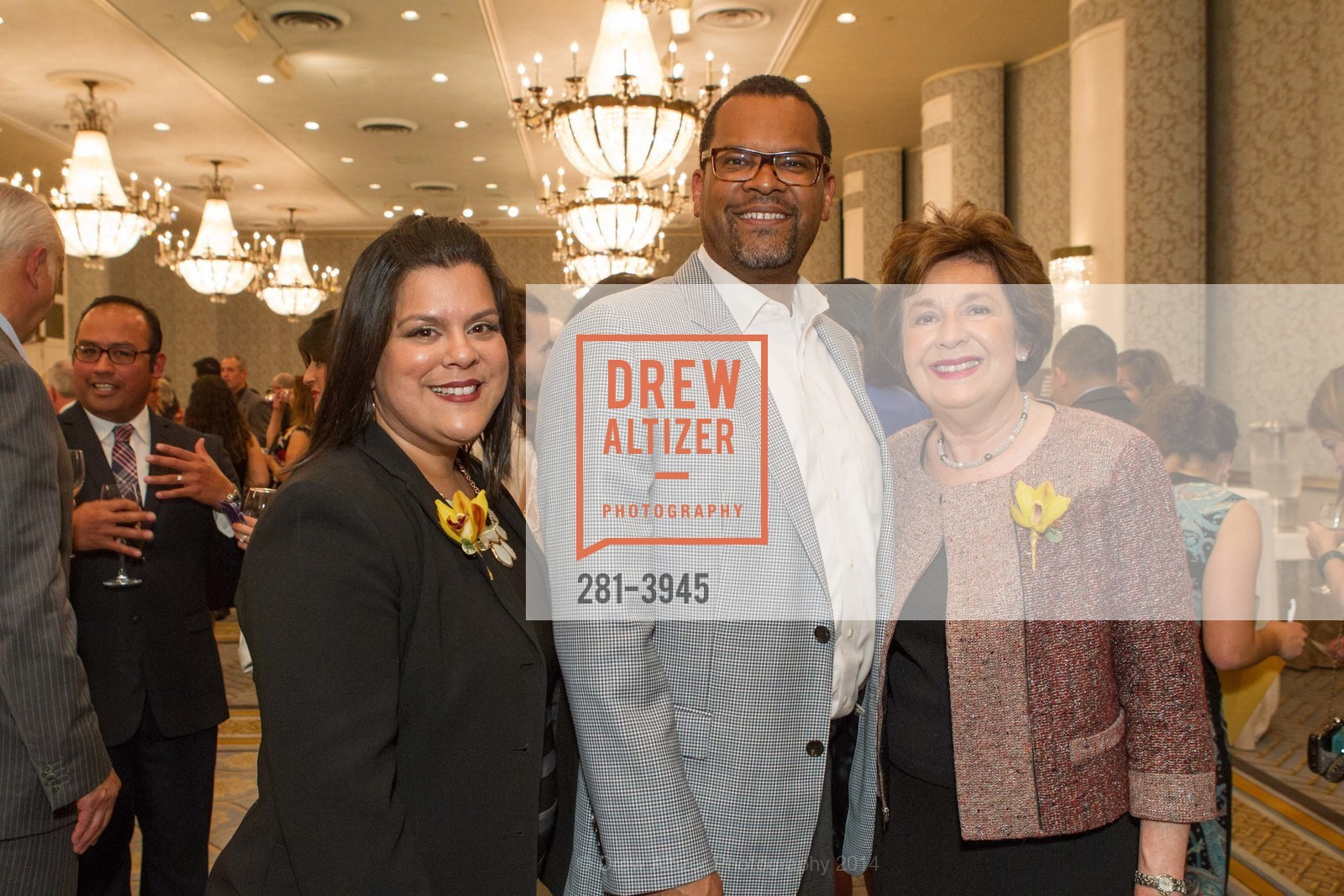 Raquel Donoso, Fred Blackwell, Aida Alvarez, Photo #281-3945