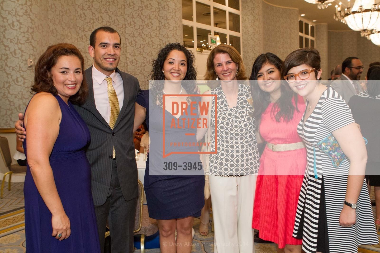 Lorena Chatterjee, Hector Mojica, Adrianna Samaniego, Sarah Butler Simbeck Juany Torres, Julie Ann Crommett, Photo #309-3945
