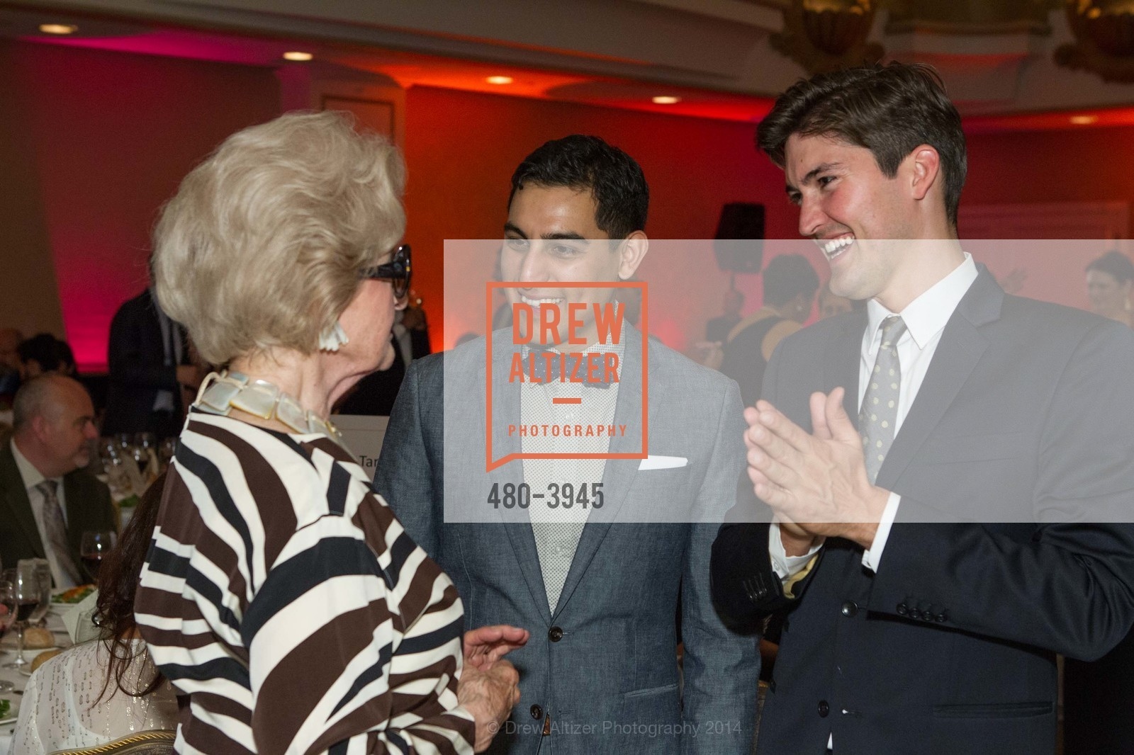 Genelle Relfe, Cesar Torres, John Metcalf, Photo #480-3945