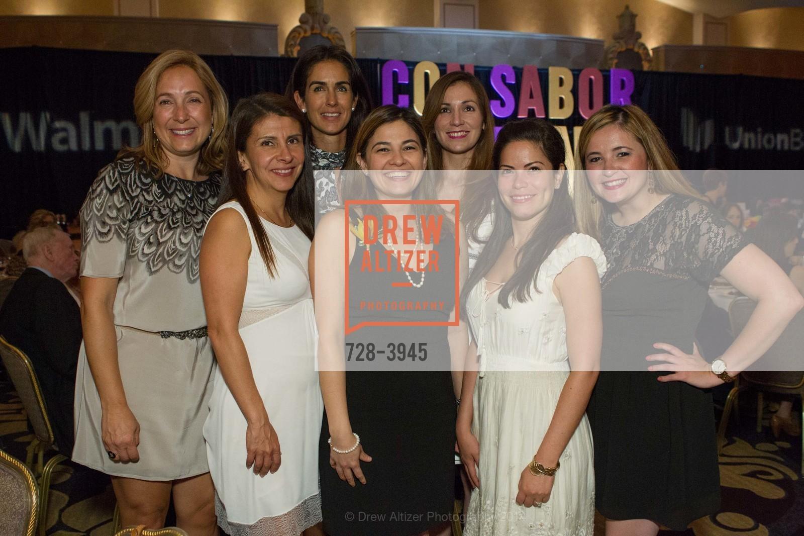 Jimena Alvarez, Angelica Laranaga, Patty Millan, Lourdes Ruiz, Alma Elizondo, Cecille Hinojosa, Photo #728-3945