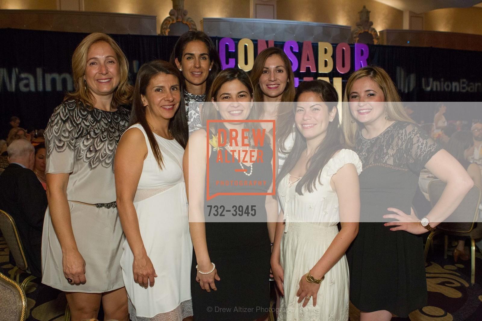 Jimena Alvarez, Angelica Laranaga, Patty Millan, Lourdes Ruiz, Alma Elizondo, Cecille Hinojosa, Yolis Ruiz, Photo #732-3945