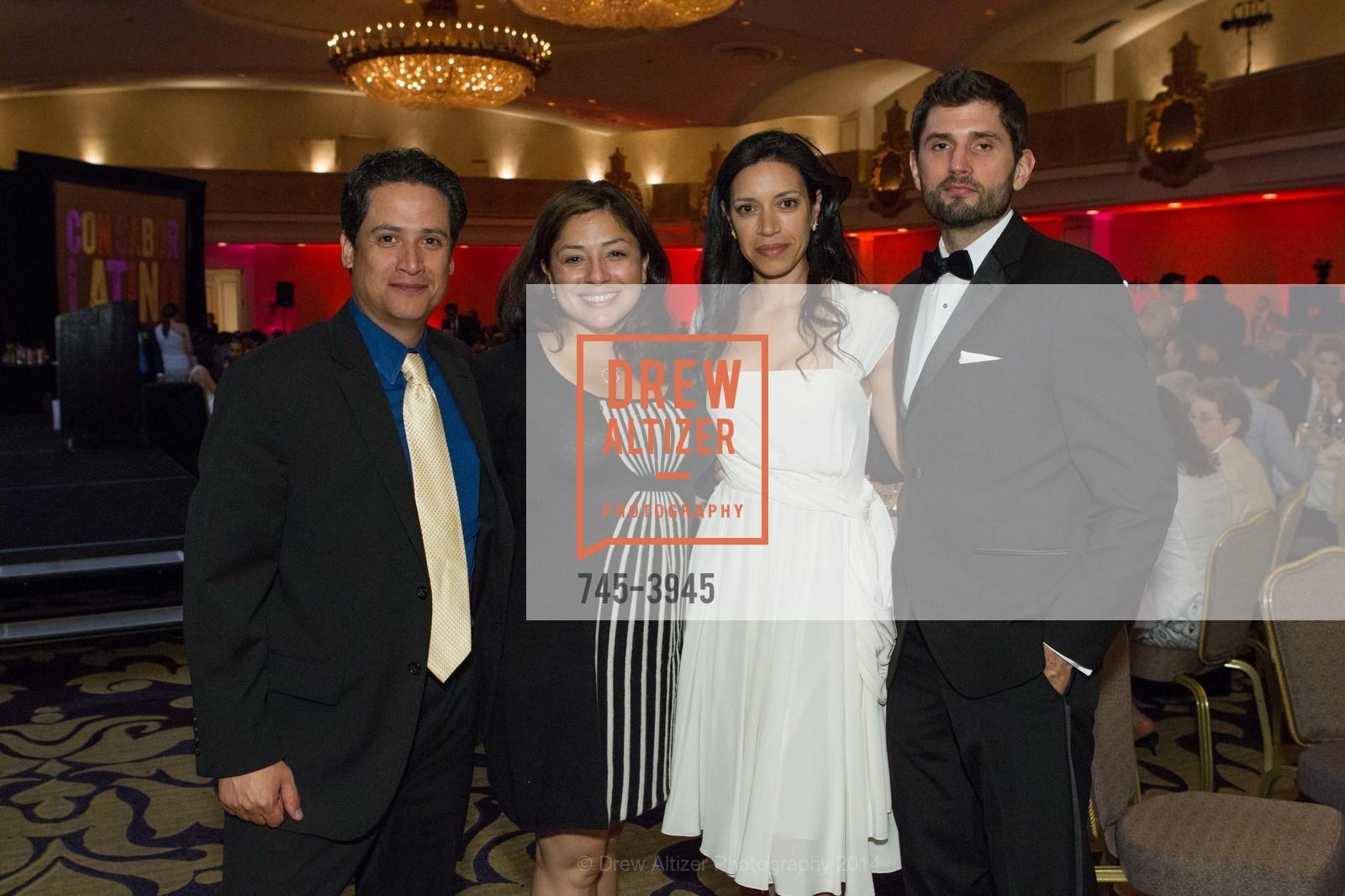 Max Medina, Ali Medina, Catherine Lelong, Simon Longbottom, Photo #745-3945