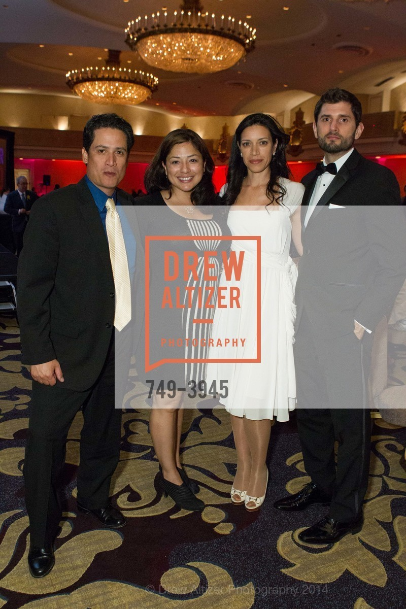 Max Medina, Ali Medina, Catherine Lelong, Simon Longbottom, Photo #749-3945