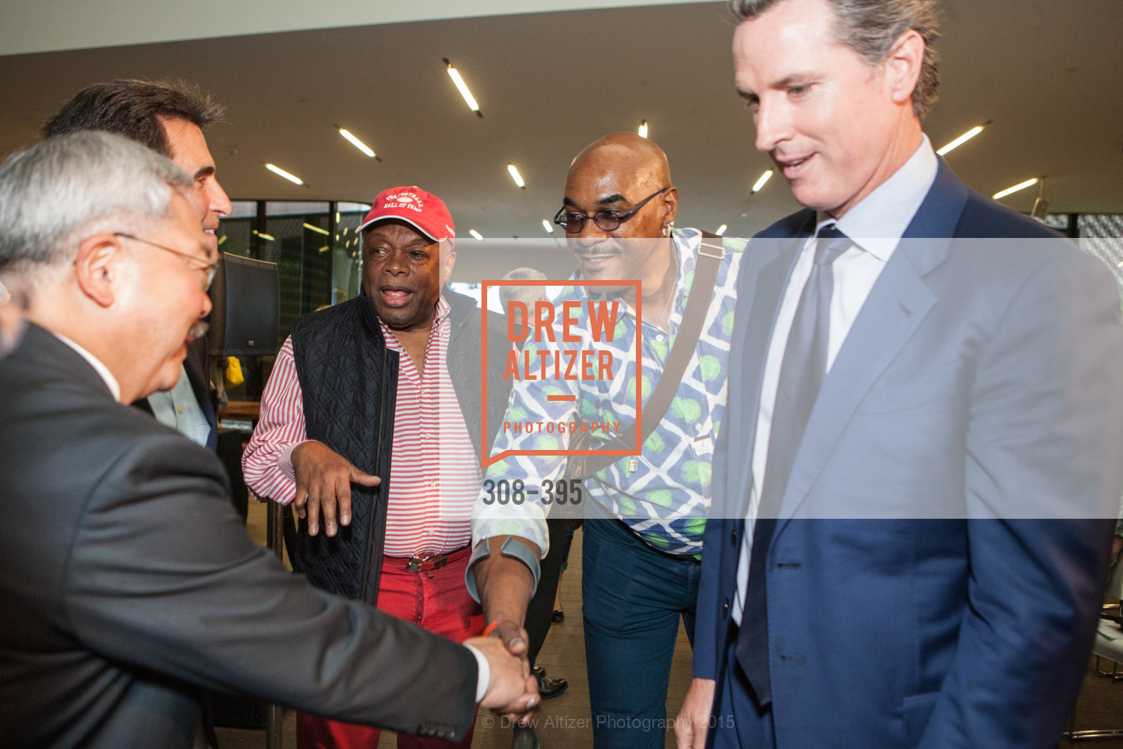 Mayor Ed Lee, Mark Leno, Willie Brown, Gavin Newsom, 10th Anniversary of the new de Young: Community Day, de Young Museum, October 17th, 2015,Drew Altizer, Drew Altizer Photography, full-service agency, private events, San Francisco photographer, photographer california
