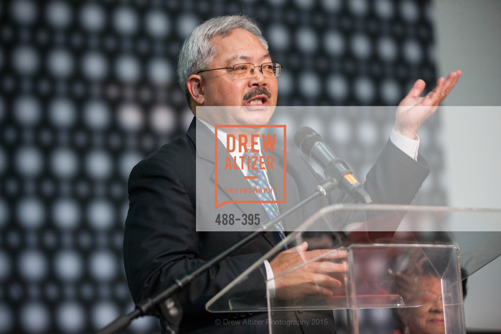 Ed Lee, 10th Anniversary of the new de Young: Community Day, de Young Museum, October 17th, 2015,Drew Altizer, Drew Altizer Photography, full-service event agency, private events, San Francisco photographer, photographer California