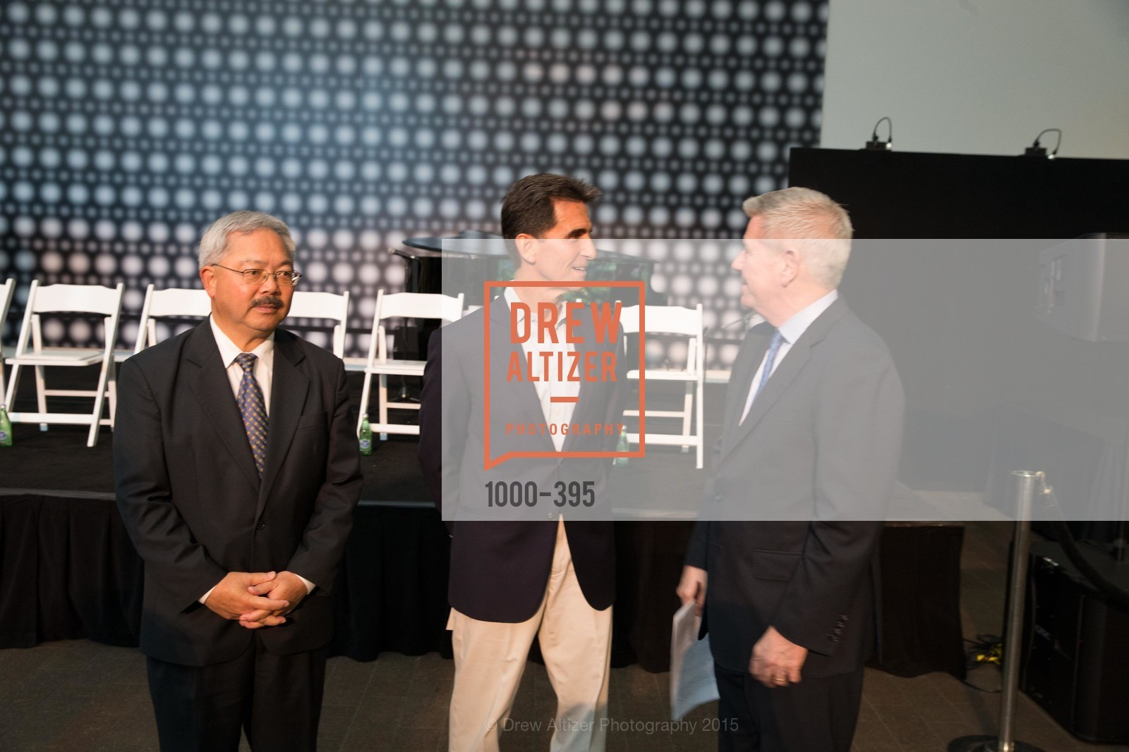 Ed Lee, Mark Leno, Richard Benefield, 10th Anniversary of the new de Young: Community Day, de Young Museum, October 17th, 2015,Drew Altizer, Drew Altizer Photography, full-service agency, private events, San Francisco photographer, photographer california
