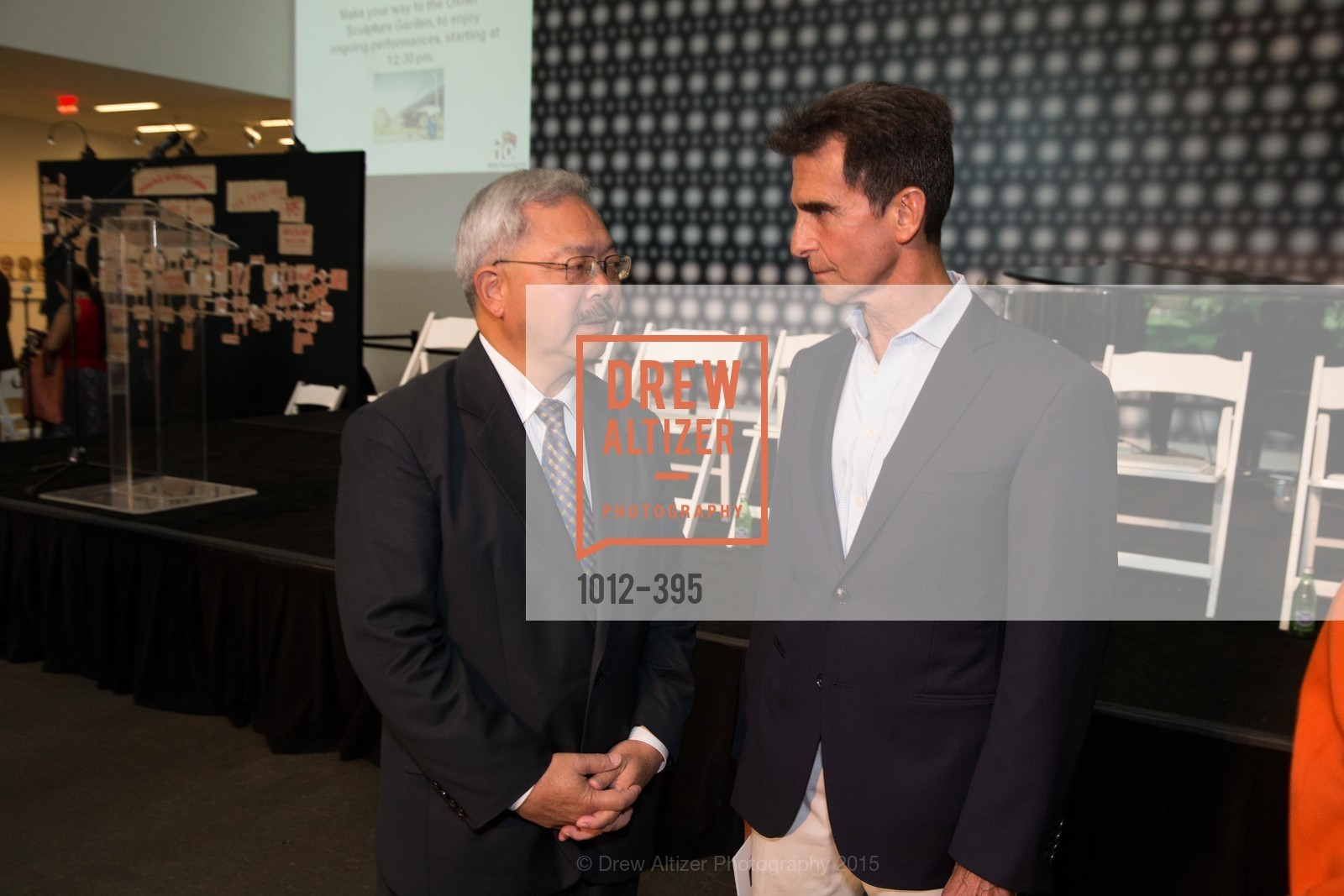 Ed Lee, Mark Leno, 10th Anniversary of the new de Young: Community Day, de Young Museum, October 17th, 2015,Drew Altizer, Drew Altizer Photography, full-service event agency, private events, San Francisco photographer, photographer California