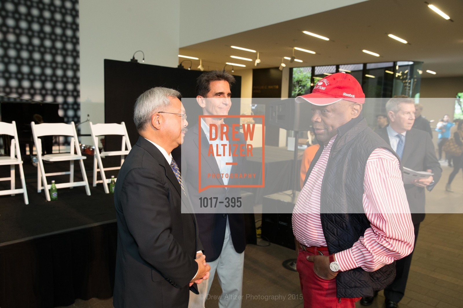 Mayor Ed Lee, Mark Leno, Willie Brown, 10th Anniversary of the new de Young: Community Day, de Young Museum, October 17th, 2015,Drew Altizer, Drew Altizer Photography, full-service agency, private events, San Francisco photographer, photographer california