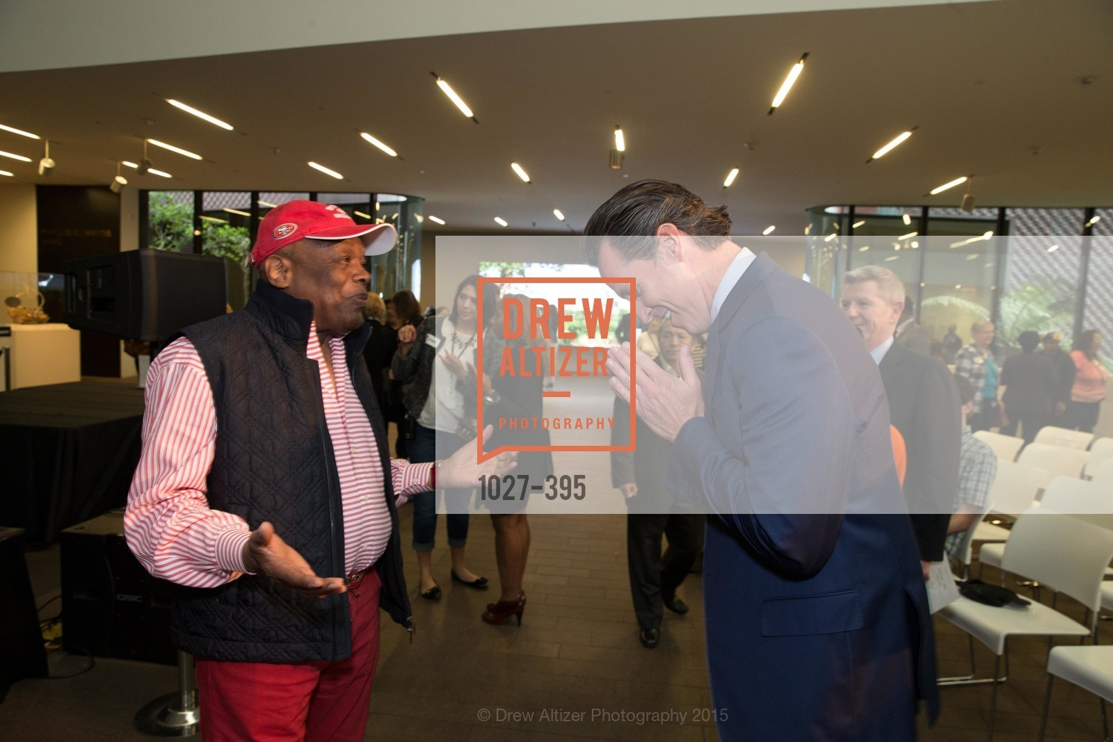 Willie Brown, Gavin Newsom, 10th Anniversary of the new de Young: Community Day, de Young Museum, October 17th, 2015,Drew Altizer, Drew Altizer Photography, full-service agency, private events, San Francisco photographer, photographer california