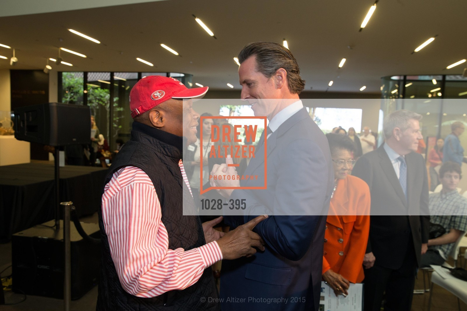 Willie Brown, Gavin Newsom, 10th Anniversary of the new de Young: Community Day, de Young Museum, October 17th, 2015,Drew Altizer, Drew Altizer Photography, full-service event agency, private events, San Francisco photographer, photographer California