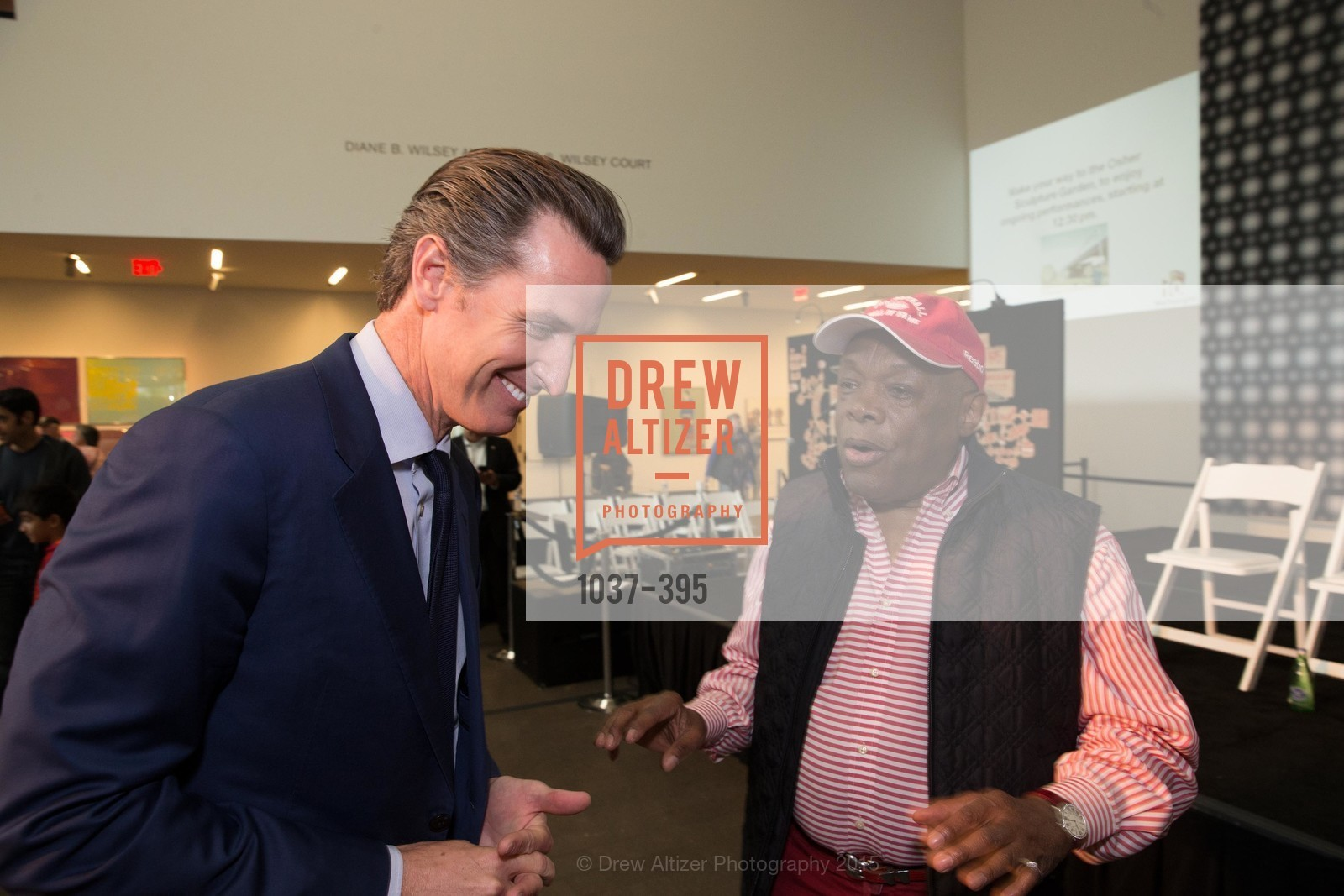 Gavin Newsom, Willie Brown, 10th Anniversary of the new de Young: Community Day, de Young Museum, October 17th, 2015,Drew Altizer, Drew Altizer Photography, full-service agency, private events, San Francisco photographer, photographer california