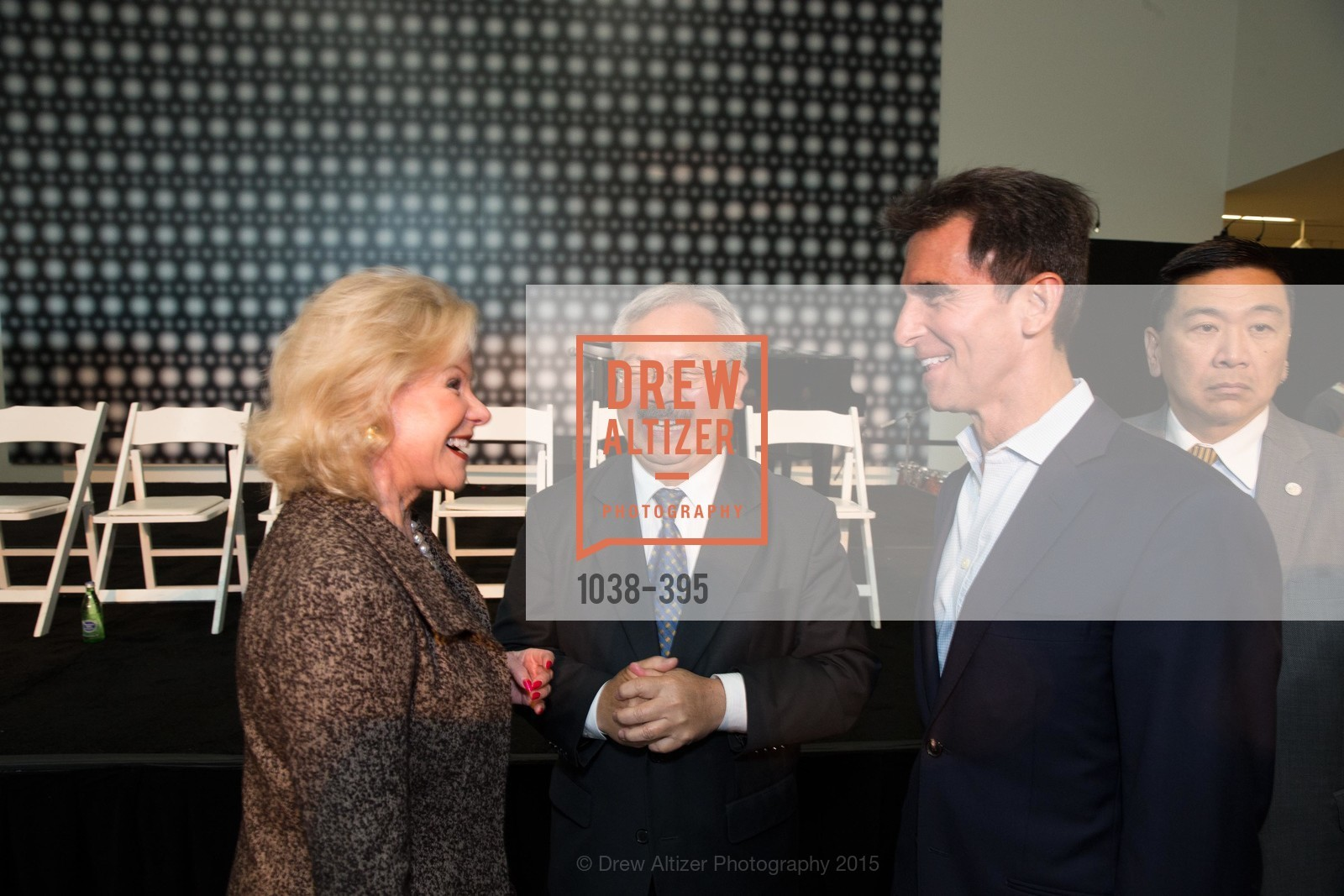Dede Wilsey, Mayor Ed Lee, Mark Leno, 10th Anniversary of the new de Young: Community Day, de Young Museum, October 17th, 2015,Drew Altizer, Drew Altizer Photography, full-service agency, private events, San Francisco photographer, photographer california