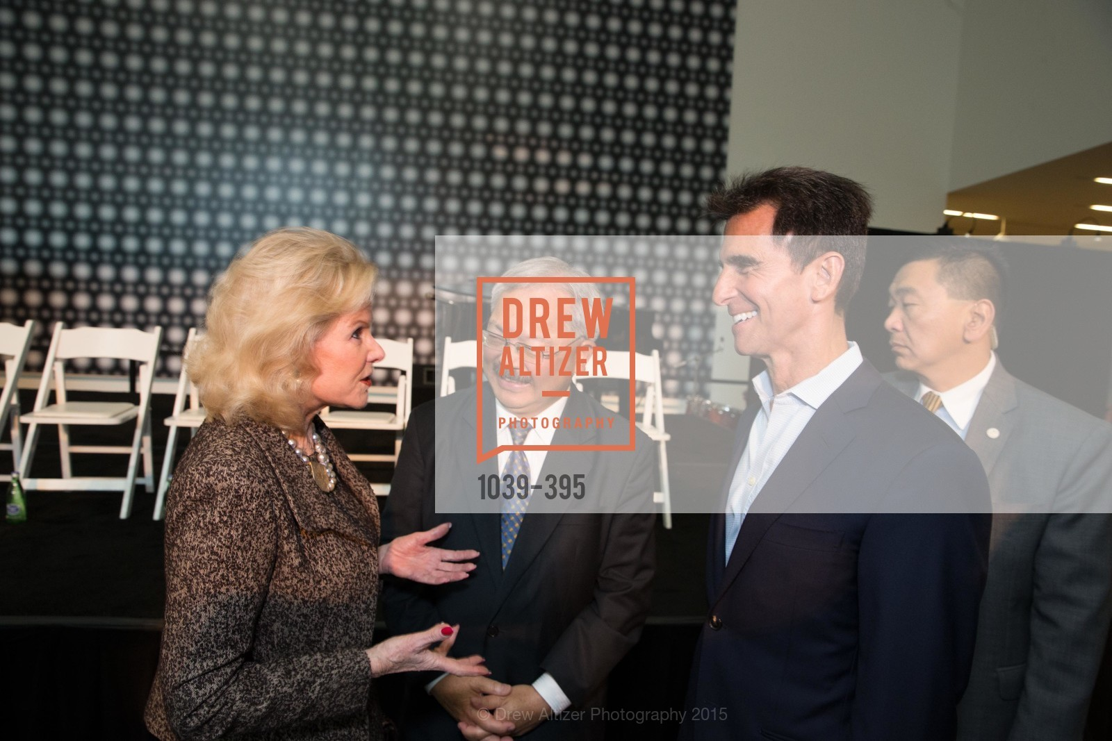 Dede Wilsey, Ed Lee, Mark Leno, 10th Anniversary of the new de Young: Community Day, de Young Museum, October 17th, 2015,Drew Altizer, Drew Altizer Photography, full-service agency, private events, San Francisco photographer, photographer california