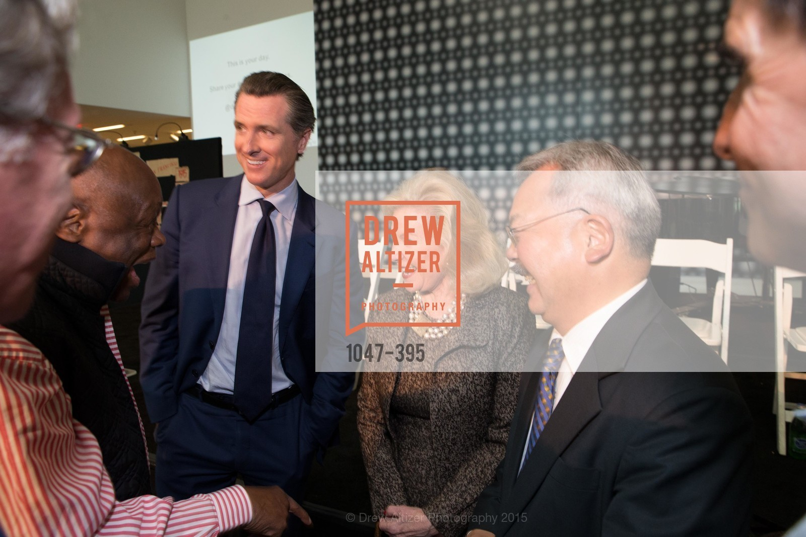 Gavin Newsom, Dede Wilsey, Mayor Ed Lee, 10th Anniversary of the new de Young: Community Day, de Young Museum, October 17th, 2015,Drew Altizer, Drew Altizer Photography, full-service agency, private events, San Francisco photographer, photographer california